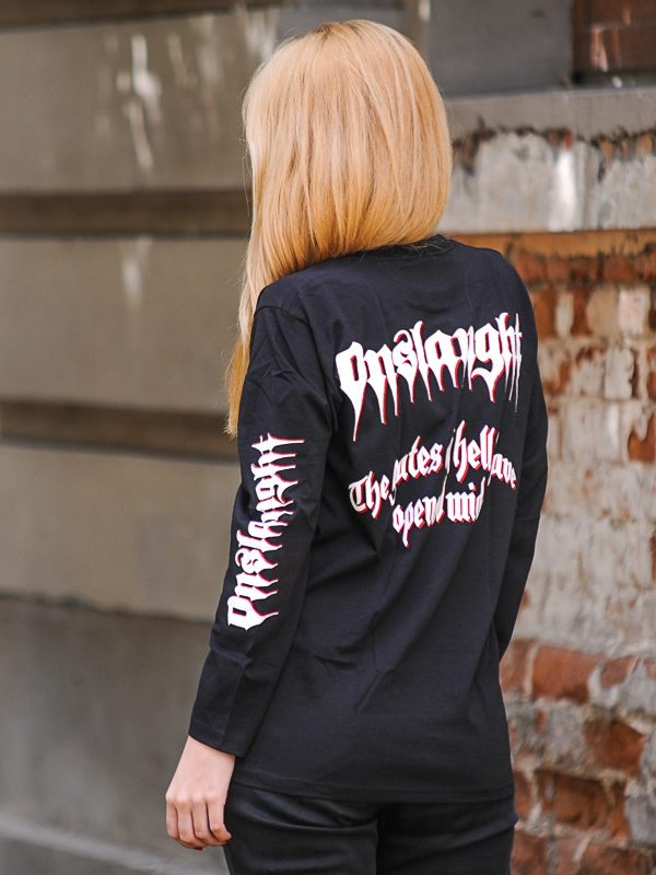 ONSLAUGHT – Power From Hell Long Sleeve