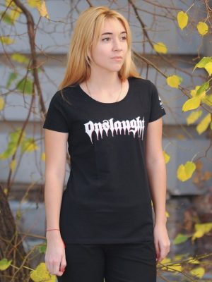 ONSLAUGHT – Power From Hell Lady Fit T-Shirt