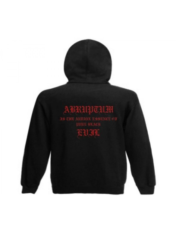 ABRUPTUM – In Umbra Malitiae Ambulabo … Hooded Sweat