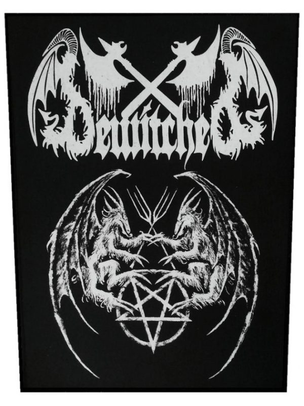 Bewitched – Pentagram Prayer Back Patch
