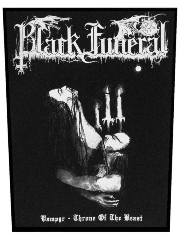 Black Funeral – Vampyr – Throne Of The Beast Back Patch