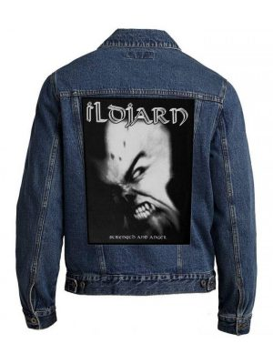 Ildjarn – Strength And Anger Back Patch