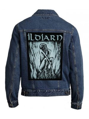 Ildjarn – 1992-1995 Blue Grey Back Patch