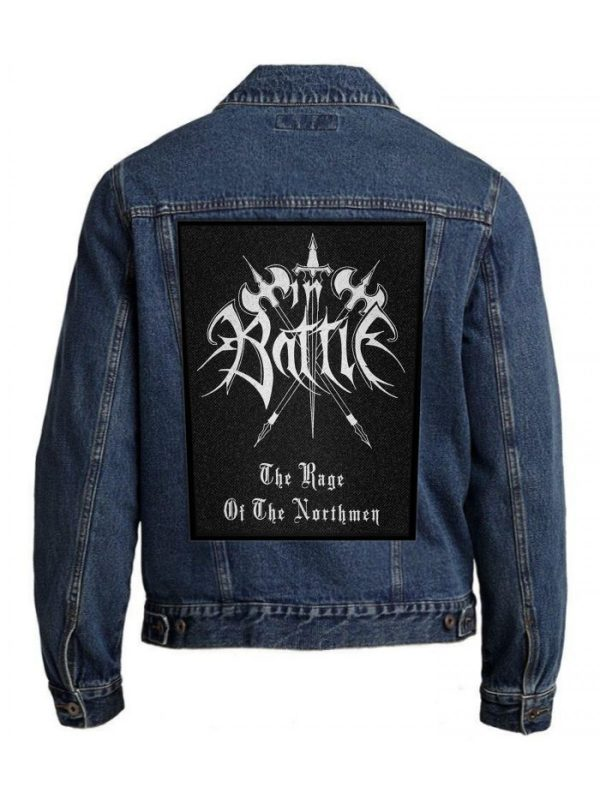 In Battle – The Rage Of The Northmen Back Patch
