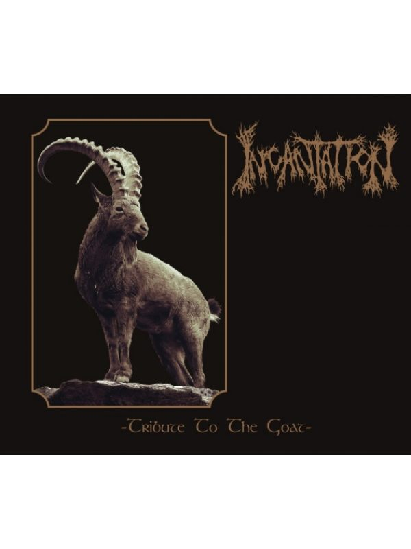 Incantation – Tribute To The Goat Digibook CD