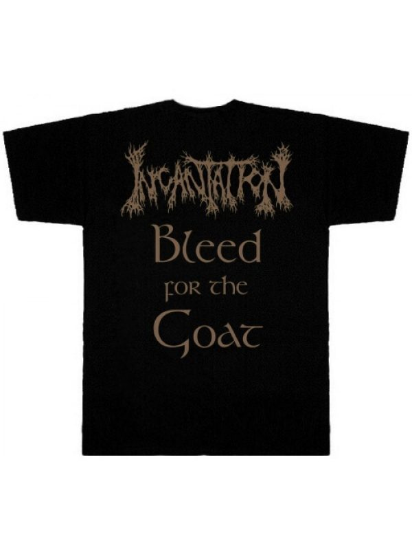 INCANTATION – Tribute To The Goat TS
