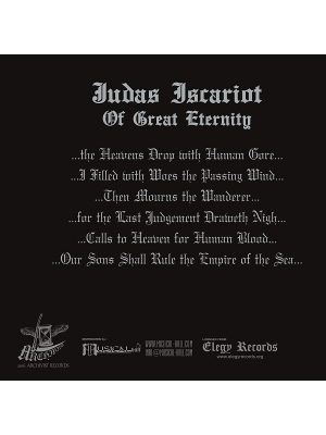 Judas Iscariot – Of Great Eternity Digibook CD