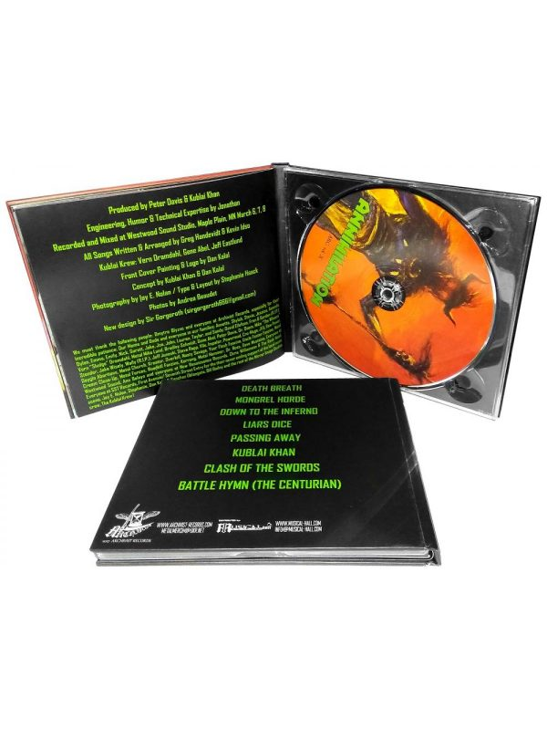 Kublai Khan – Annihilation CD Digibook