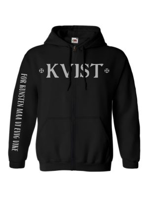 KVIST – For Kunsten Maa Vi Evig Vike Hooded Sweat Jacket