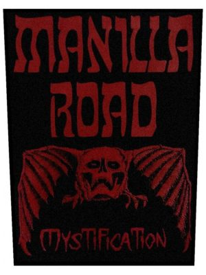 Manilla Road – Mystification Back Patch