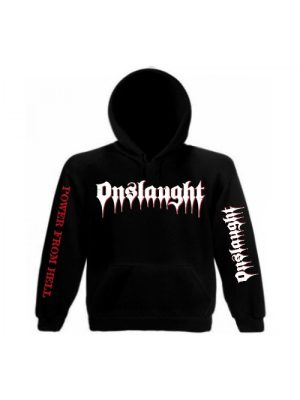 ONSLAUGHT – Power From Hell Hooded Sweat