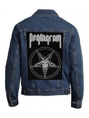 Pentagram – Relentless Back Patch