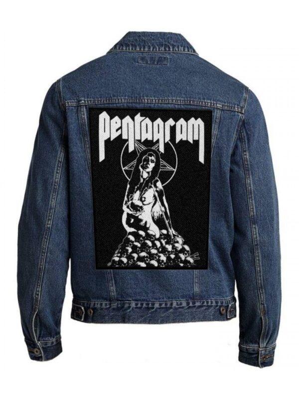 Pentagram Back Patch