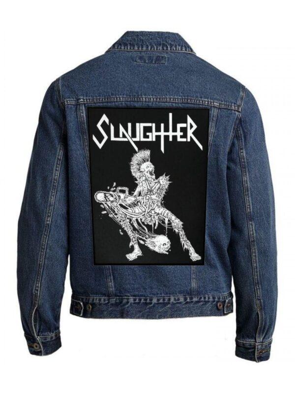 Slaughter – Strappado Back Patch