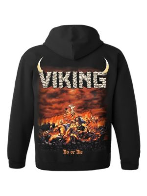 VIKING – Do Or Die Hooded Sweat Jacket
