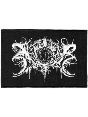 Xasthur White Logo Patch