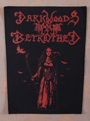 Darkwoods My Betrothed - Witch-Hunts Back Patch