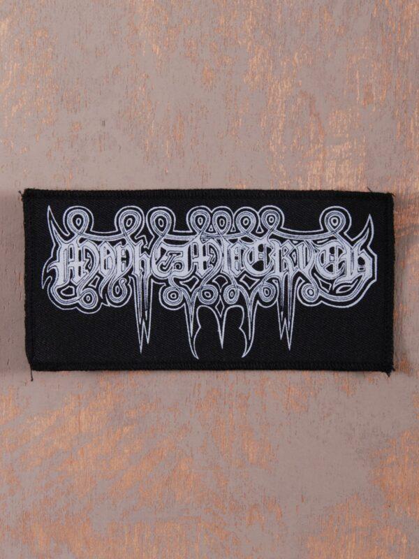 Mayhemic Truth White Logo Patch