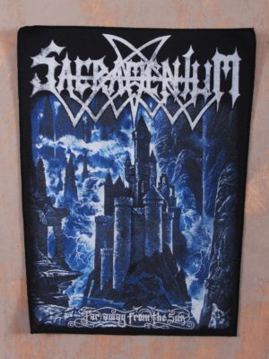 Sacramentum – Far Away From The Sun Back Patch
