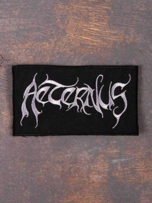 Aeternus White Logo Patch