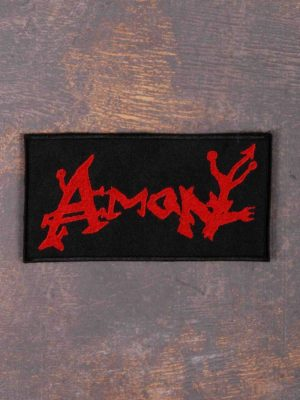 Amon Red Logo Patch