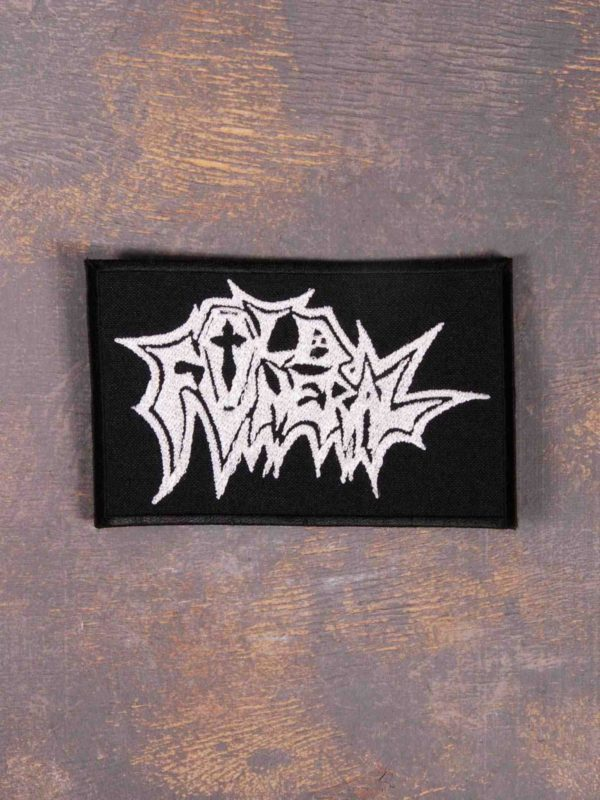 OLD FUNERAL Logo Patch