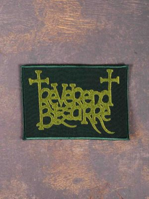 Reverend Bizarre Green Logo Patch