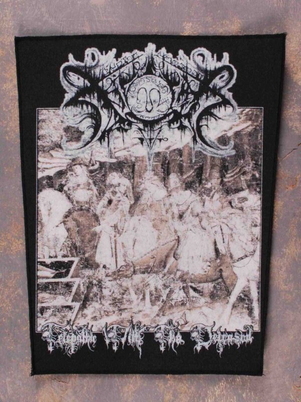 Xasthur – Telepathic With The Deceased Back Patch