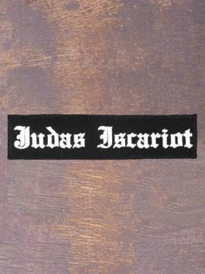 Judas Iscariot Logo Patch
