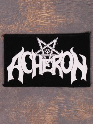 Acheron White Logo Patch
