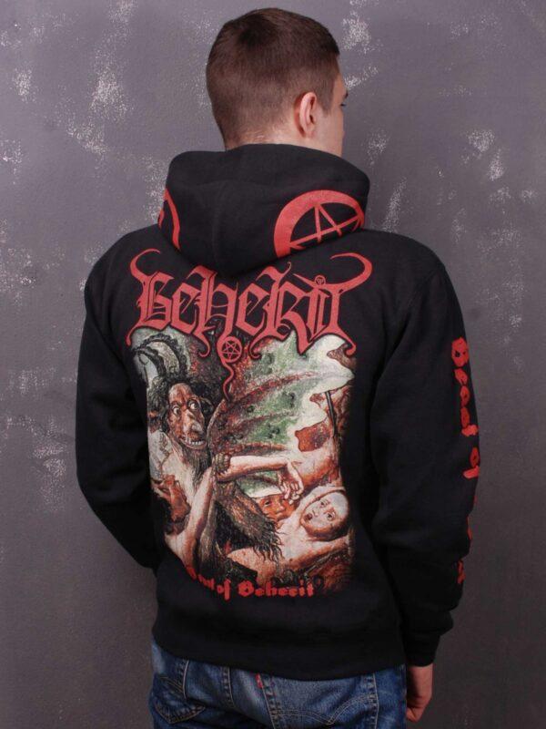 Beherit – Beast Of Beherit Hooded Sweat Jacket