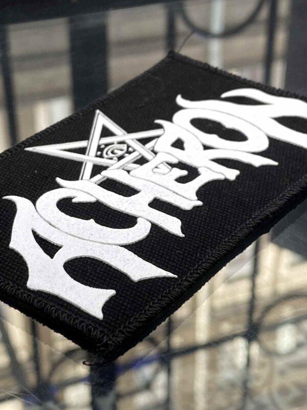 Acheron White Logo Patch