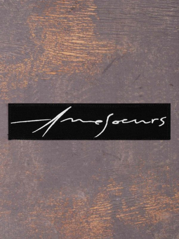 Amesoeurs Logo Printed Patch