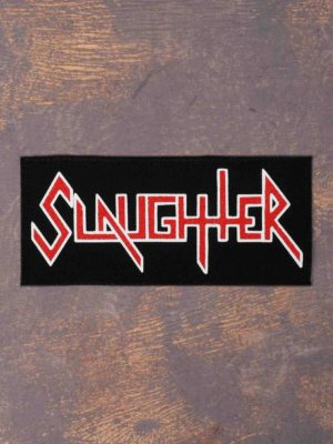 Slaughter Logo Printed Patch