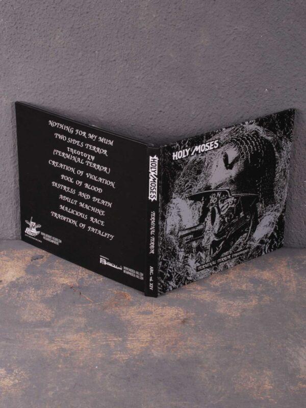 Holy Moses – Terminal Terror (Τηεοτοχψ) CD Digibook