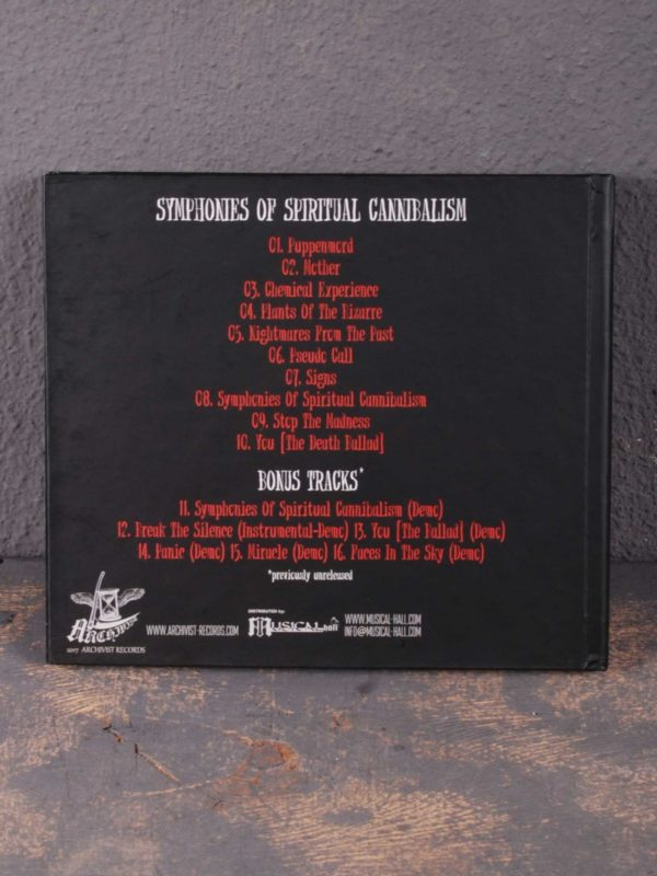 Incubator – Symphonies Of Spiritual Cannibalism CD Digibook