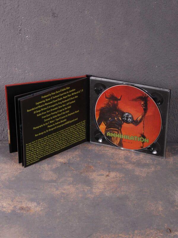Kublai Khan – Annihilation CD Digibook