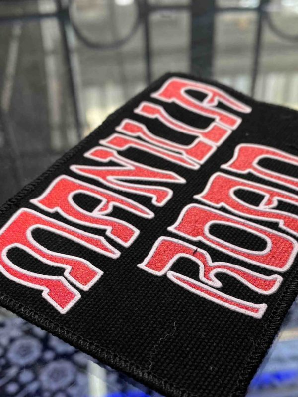 Manilla Road Printed Patch