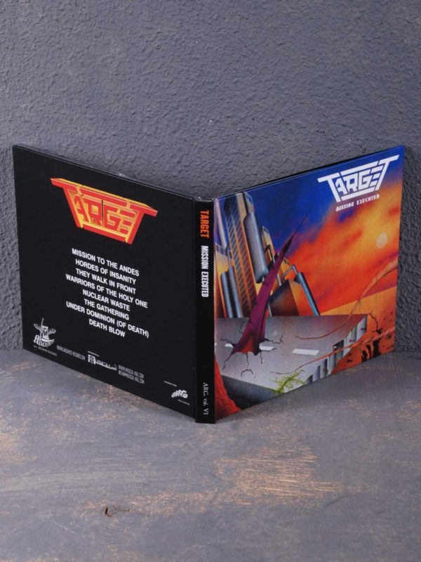 Target – Mission Executed CD Digibook
